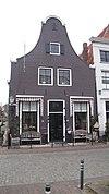 foto van Huis met klokgevel parterre met twee zolderverdiepingen