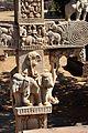 Elephants - West Face - South Pillar - East Gateway - Stupa 1 - Sanchi Hill 2013-02-21 4467.JPG