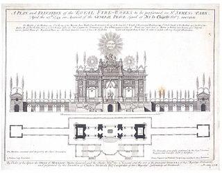 <i>Music for the Royal Fireworks</i> musical composition by G. F. Handel