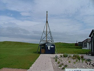 Elie Golf Club - Image: Elie Golf Course Starter Hut geograph.org.uk 20451