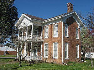 Elijah P. Curtis House - Image: Elijah P. Curtis House, blue sky