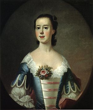 Jeremiah Theus - Mrs Thomas Lynch, 1755, Reynolda House Museum of American Art