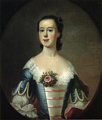 Jeremiah Theus - Mrs Thomas Lynch, 1755, Reynolda House Museum of American Art
