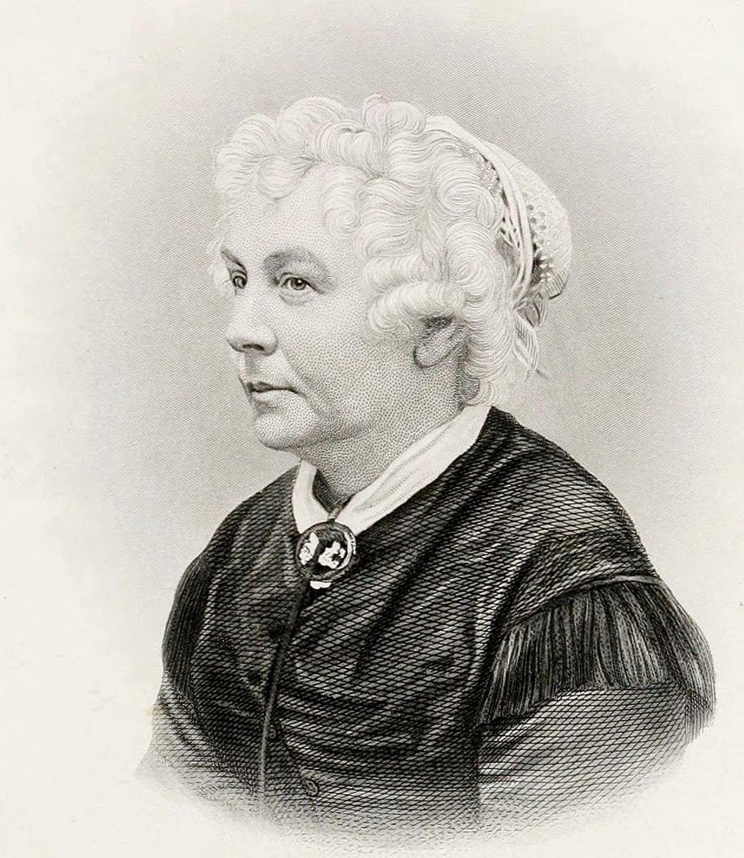 Elizabeth Cady Stanton by HB Hall