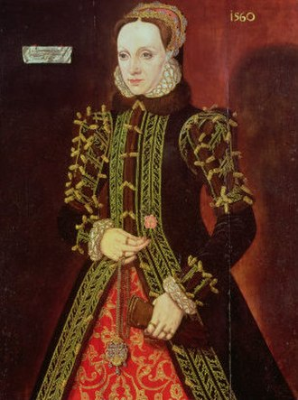 """Edward Clinton, 1st Earl of Lincoln - Elizabeth FitzGerald, (""""the fair Geraldine"""") daughter of Gerald FitzGerald, 9th Earl of Kildare, third wife of Lord Clinton"""