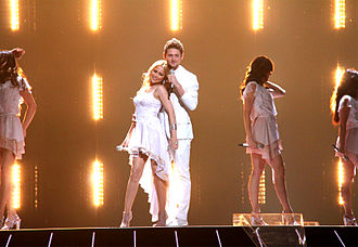 Eurovision Song Contest 2011 - Ell & Nikki of Azerbaijan, during the ESC 2011