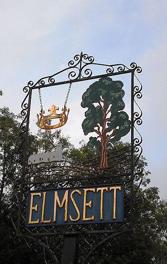 Elmsett - Village sign