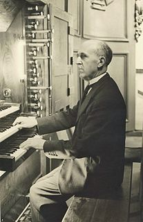 Émile Poillot French organist