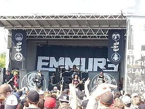 Emmure - Emmure performing at 2014's Mayhem Fest