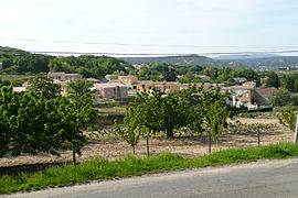A general view of Saint-Julien-de-Peyrolas