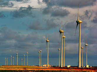 Energy in Brazil - Wind farm in Parnaíba, Piauí