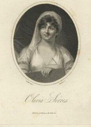 Olivia Serres - Image: Engraving of Olivia Serres