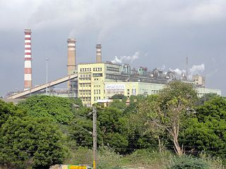 Ennore Thermal Power Station building in India