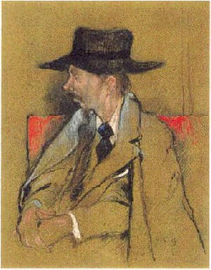 Enoch Soames - Enoch Soames in 1895 as depicted by William Rothenstein
