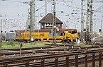Entgleisung des HSG-Schienenschleifzugs an der Südeinfahrt des Rangierbahnhofs Köln-Kalk Nord 2015-11-16-01.jpg