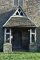 Entrance porch, Rotherwas Chapel - geograph.org.uk - 1136101.jpg