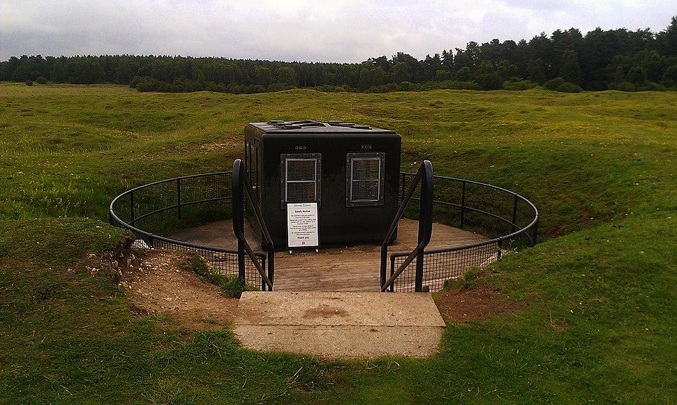 Entrance to Grimes Graves pit