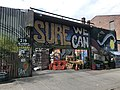 Entrance to Sure We Can, a non-profit redemption center based in Brooklyn, New York.jpg