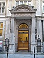 Entrance to the Patent Office building, Furnival Street, EC4 - geograph.org.uk - 1932842.jpg