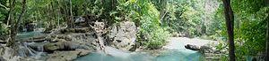 Erawan National Park - Image: Erawan waterfall tier 5