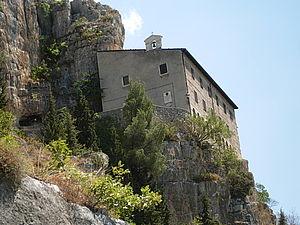Pope Celestine V - Eremo di Sant'Onofrio al Morrone, Sulmona (Abruzzo)