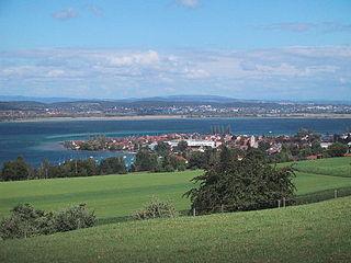 Rheinsee lake in Germany