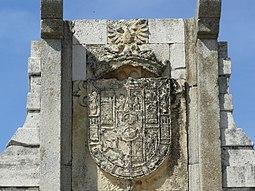 Escudo de la entrada