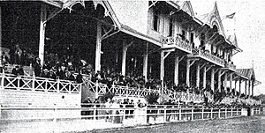 Copa Premier Honor Argentino - The Estadio G.E.B.A. during the first match of the 3rd edition, 13 November 1910