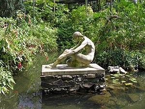 Estufa Fria - Statue in Estufa Fria