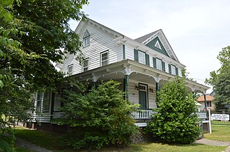National Register of Historic Places listings in Gates County, North Carolina - Image: Eure Roberts House