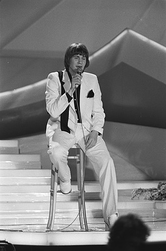 "Eurovision Song Contest 1980 - Johnny Logan performing his winning song ""What's Another Year"""