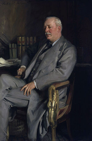 Federation of Stoke-on-Trent -  alt=Lord Cromer, chairman of the House of Lords Select Committee (painting by John Singer Sargent)