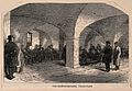 Everyday life at Greenwich Hospital; Pensioners smoking in t Wellcome V0013379.jpg