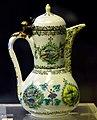 Ewer. Kutahya, glazed. 1st half of the 18th century CE. Museum of Islamic Art (Tiled Kiosk), Istanbul. Turkey.jpg