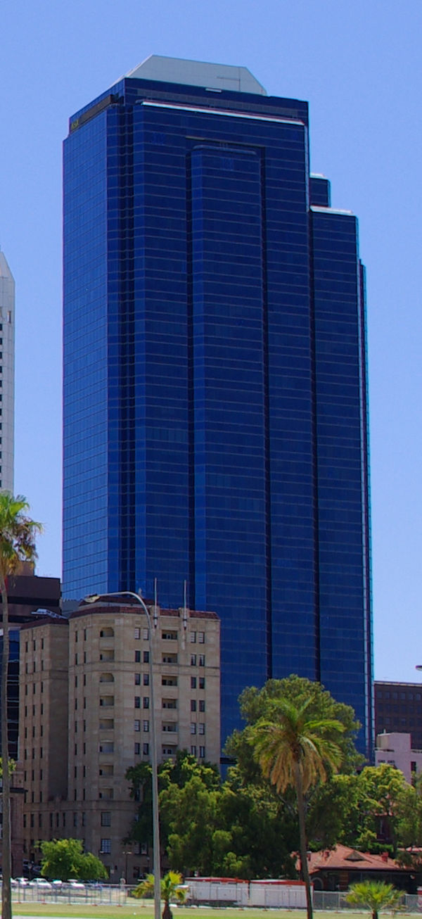 Office buildings in perth western australia for 137 st georges terrace perth
