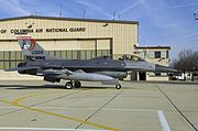 F-16D DC ANG Andrews AFB 2008
