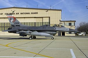 Joint Base Andrews - F-16D of the 113th Wing