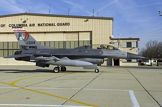 121st Fighter Squadron - General Dynamics F-16D Block 30 Fighting Falcon (s/n 85-1509) from the 121st Fighter Squadron