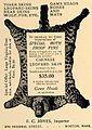 F. C. Jones, Boston, Federal Street, fur skins, advertisement 1906.jpg