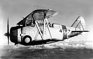 Grumman F3F aircraft