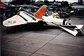 F4D-1 with towed target at Andrews AFB 1960.jpg