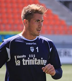 FC Lorient - May 24th 2013 training - Benjamin Lecomte 3.JPG