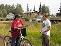 FEMA - 41720 - State Employee Speaks With Tanana, AK resident.jpg