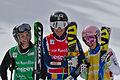 FIS Ski Cross World Cup 2015 - Megève - 20150313 - M. Hoeie Gjefsen, A. Holmlund et K. Ofner 2.jpg