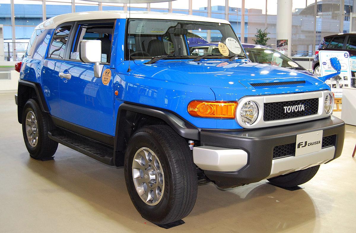 Toyota Fj Cruiser Wikipedia Bahasa Indonesia