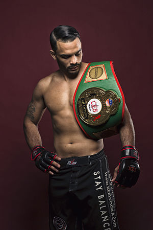 CES MMA - CES MMA featherweight champion Rob Font