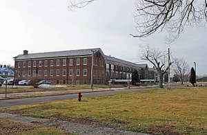 Fort DuPont - Old barracks now the Governor Bacon Health Center