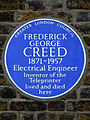 FREDERICK GEORGE CREED 1871-1957 Electrical Engineer Inventor of the Teleprinter lived and died here.jpg
