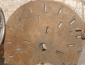 Lathe faceplate - Unusual slotted faceplate