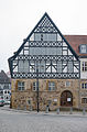 Fachwerkhaus Marktplatz Eisenach Thüringen Deutschland - Tudor style house - market place - Eisenach - Thuringia - Germany.jpg